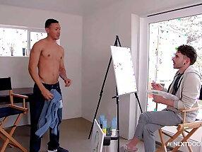 Naked Model Zion Nicholas Becomes Painter's Masterpiece, After Confessing His Love - NextDoorStudios
