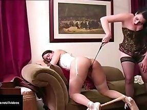 Slapping Slut Samantha Grace Smacks Lesbian Ballerina Penny Barber!