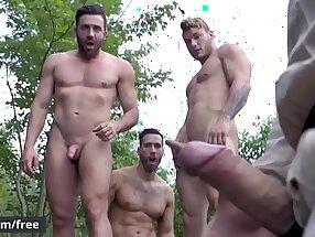 Men.com - (Alexy Tyler, Jessy Bernardo, Mateo Sanchez, William Seed) - Exposure Part 3 - Jizz Orgy - Trailer advance showing