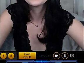 Brunette destroys me with Cam2Cam SPH/JOi(so hot)